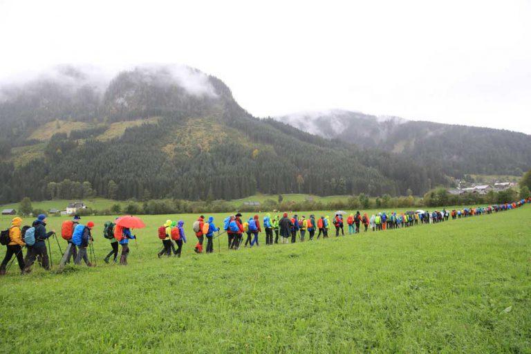 24 Stunden für Nepal - Wanderung 2017 - Bild von Daniel Hinterrramskogler