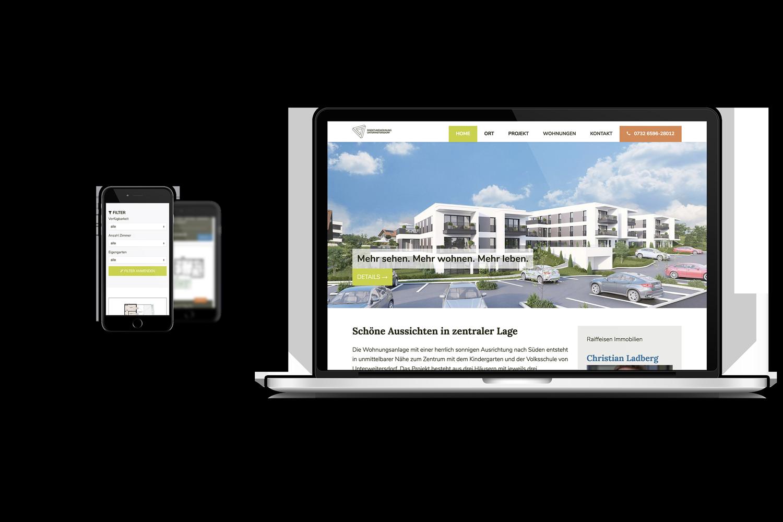 Eigentumswohnung Unterweitersdorf Mobile Web