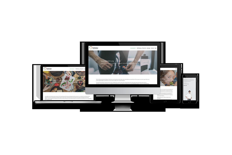 Ernährungstherapie Schicker Website Views