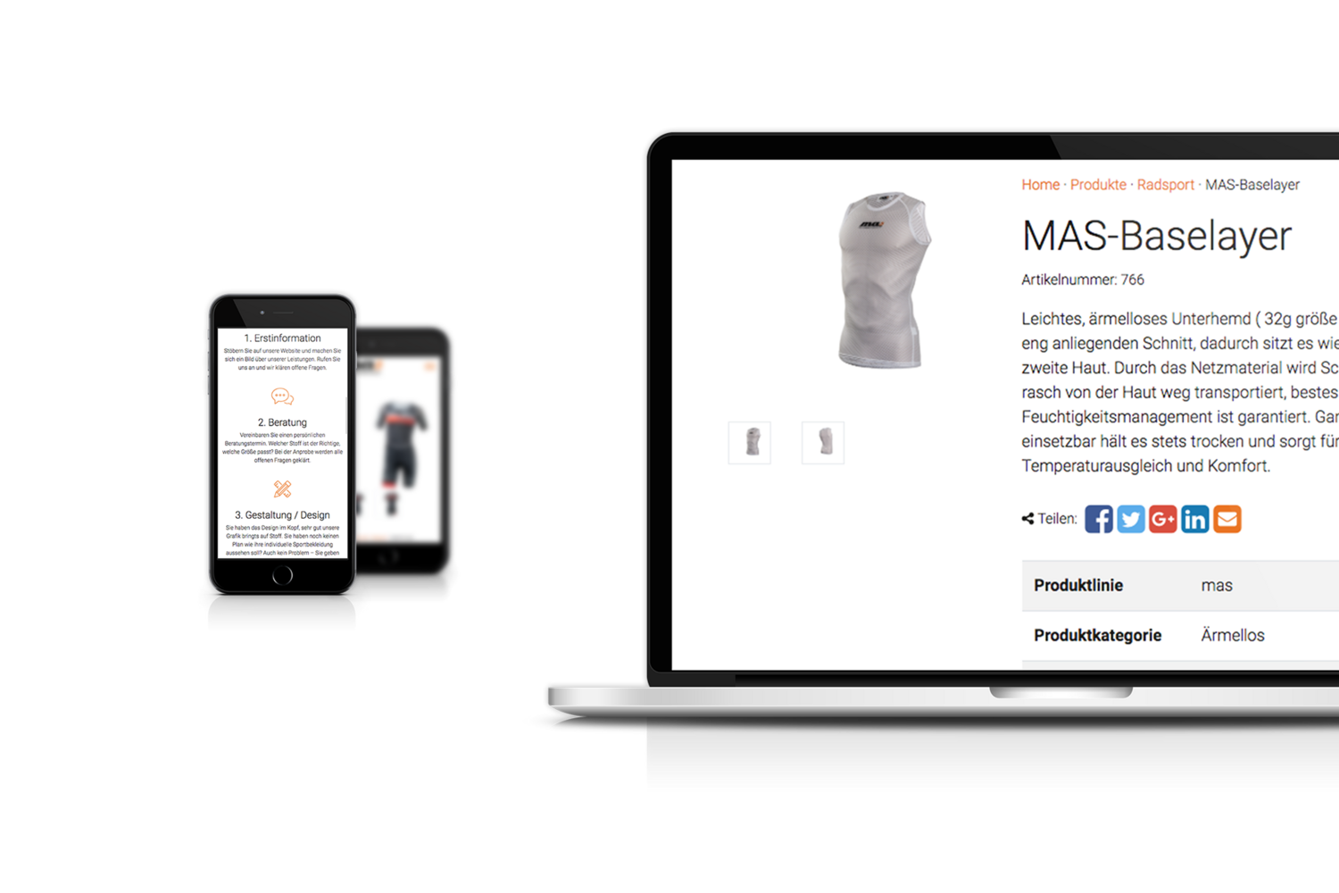 masport-factory Responsive Website - Handy und Laptop Ansicht