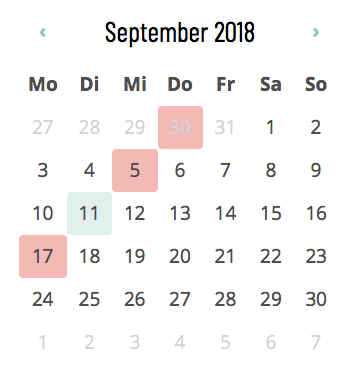 Notdienst-Kalender - Apotheke Linz